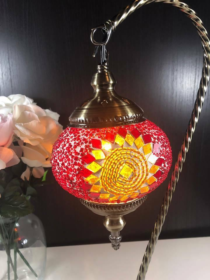 """Turkish Neck Accent Lamp18"""" Inch- TF02"""