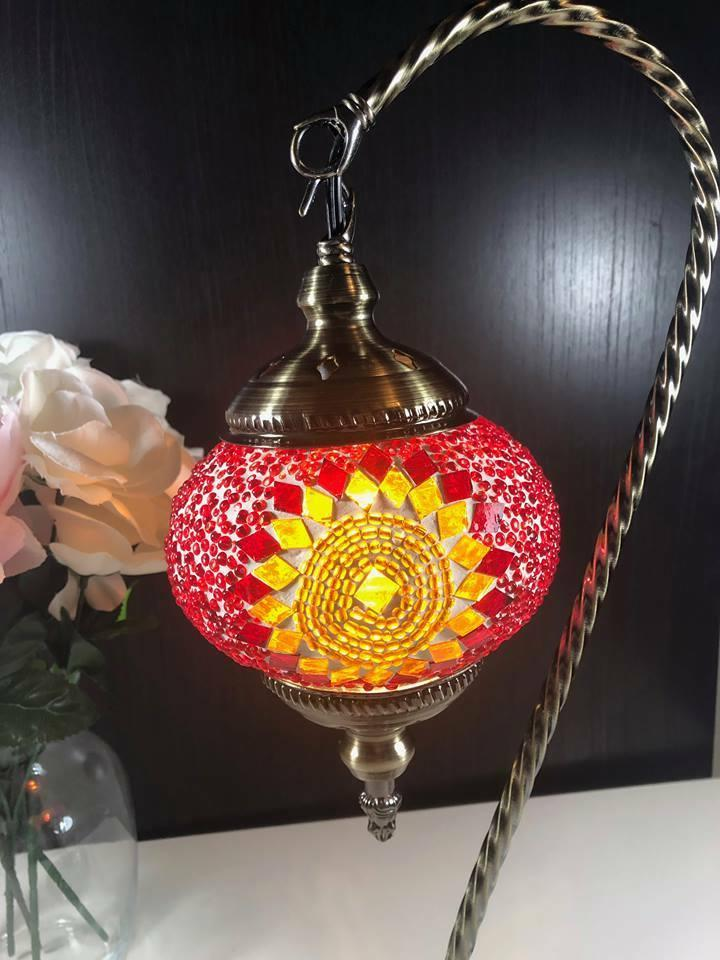 """Turkish Handmade Neck Table Accent Lamp18"""" Inch-"""