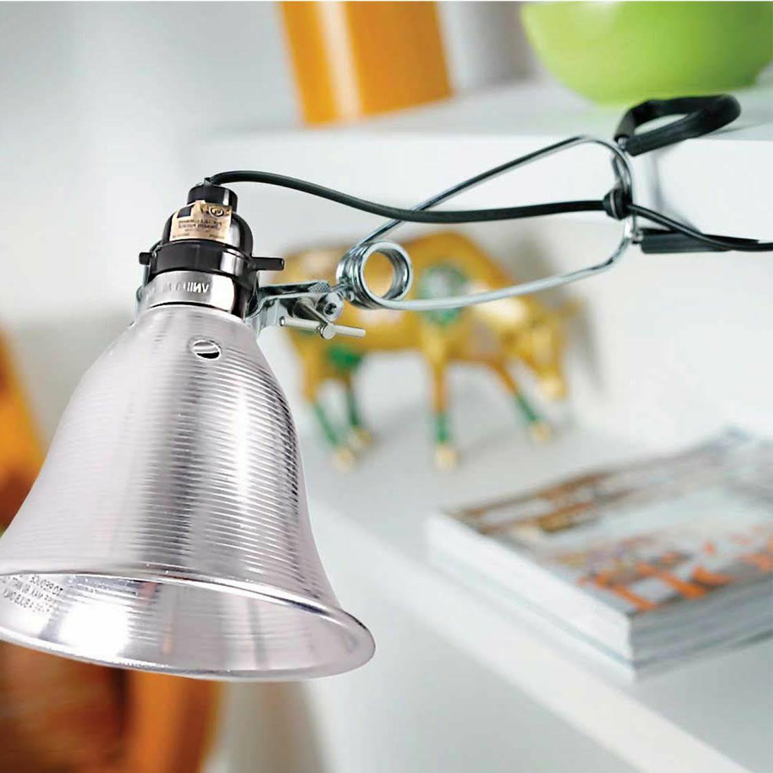 Simple UL Clamp Lamp with