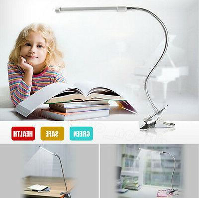us flexible usb clip on table lamp
