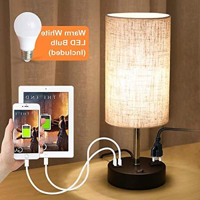 usb lamp table lamp with warm white