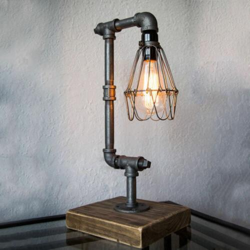 retro industrial desk table lamp steampunk water