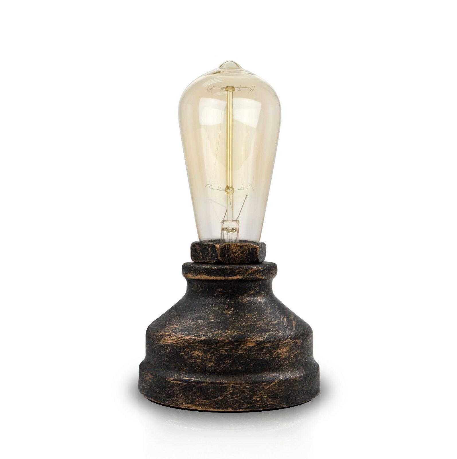 Vintage Lamp Desk Small Industrial Touch Light