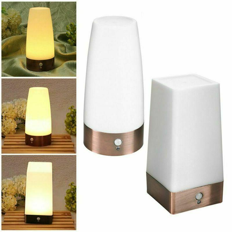 Wireless PIR Motion Sensor LED Night Light Battery Powered T