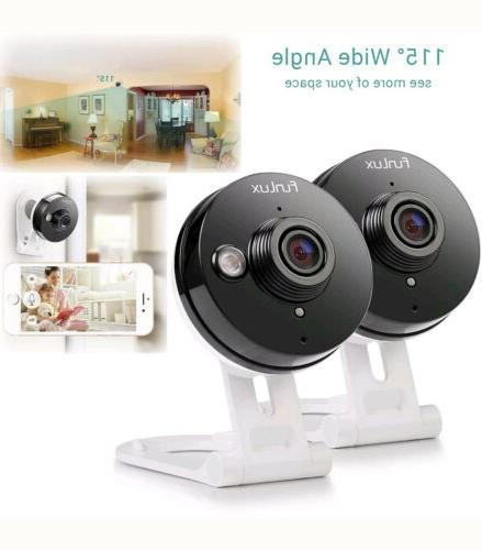 wireless security camera system wide angle 720p