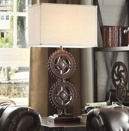 Lamps for Living Room Industrial Table Lamp with Shade Rusti