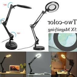LE Swing Arm Desk Lamp C-Clamp Table Classic Architect Clamp
