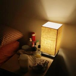 LE Table Lamp Bedside Nightstand Lamps Simple Desk Light Fab