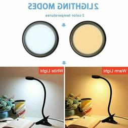 LED Desk Lamp Home Table Lamp 2 Levels Adjustable Night Ligh