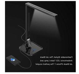 Ambertronix LED Desk Table Lamp, Soft Touch Dimmer Control P