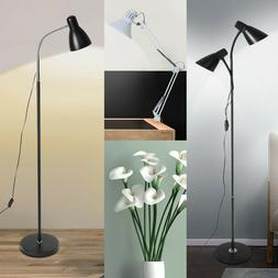 "63"" LED Floor Lamp 2 Shade Standing Light Adjustable Head Me"