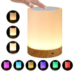 led touch sensor dimmable table lamp baby