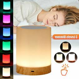 LED Touch Sensor Dimmable Table Lamp Baby Room Sleeping Aid