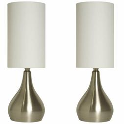 """Light Accents Touch Table Lamp - 18"""" Tall with 3-Stage Touch"""