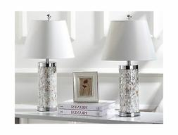 Safavieh Lighting Collection Diana Ivory Shell 21.5-inch Tab