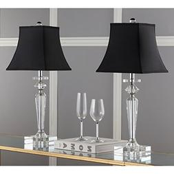 Safavieh Lighting Collection Harlow Crystal 25-inch Table La