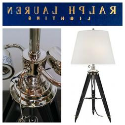 🆕Ralph Lauren Lighting Holden SURVEYORS TABLE LAMP Tripod