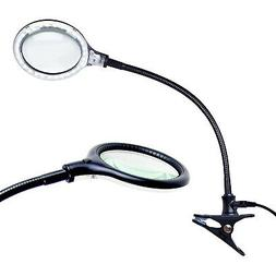 Brightech Lightview Pro Flex - Hands Free, Magnifying Glass