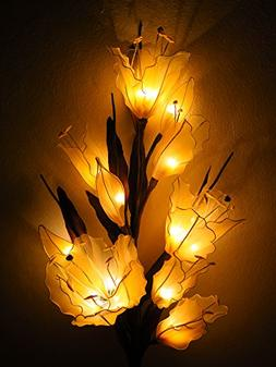 Lily Artificial Flowers Lamps, Vase/floor/table Lamps, Night