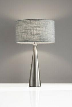 Adesso 1517-22 Linda 22 inch 100 watt Table Lamp Portable Li