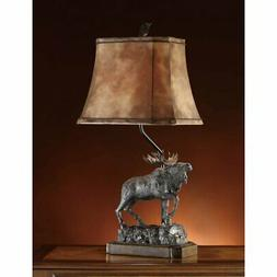 Crestview Collection Majestic Moose Table Lamp