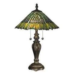 Dale Tiffany Martin Mission Style Table Lamp