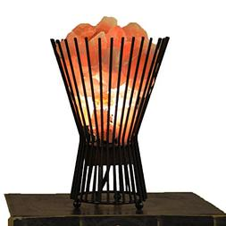 "Maymii.Home 10"" Himalayan Salt Crystal Table Desk Lamp Light"
