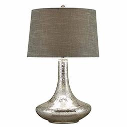 Crestview Collection Melanie Glass and Metal Table Lamp
