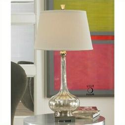 Uttermost 'Oristano' Mercury Glass Lamp - Metallic