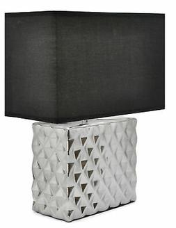 "Urban Shop Metallic 18"" Table Lamp"