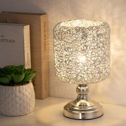 Mini Table Lamp Twist Metal Wiring Metal Base Modern Stylish