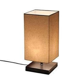Minimalist Solid Wood Table Lamp Bedside Desk Lamps Lighting