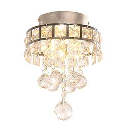 Modern Crystal Ceiling Light Pendant Lamp Lighting Fixture C