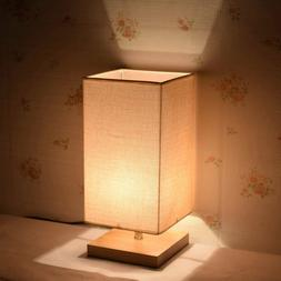 SURPARS HOUSE MODERN MINIMALIST SOLID WOOD TABLE LAMPS LIGHT