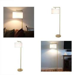Brightech Montage Modern LED Floor Lamp - Living Room Light