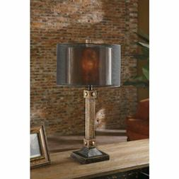 Crestview Collection Montana Industrial Table Lamp