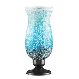 Mosaic Glass Table Top Accent Lamp, by Collections Etc