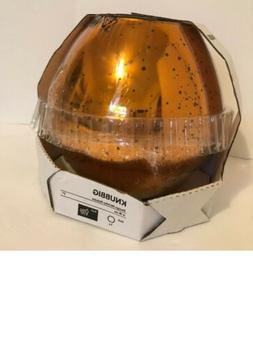 New Ikea Knubbig Table Lamp Gold 7""