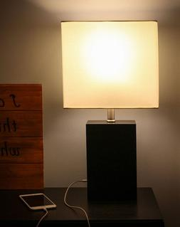 New Brightech Mode LED USB Charging Contemporary Table Lamp