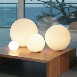 New Modern Globe Ball Round Glass Floor Table Desk Lighting
