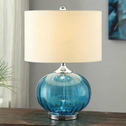 Crestview Collection New Port Glass Table Lamp