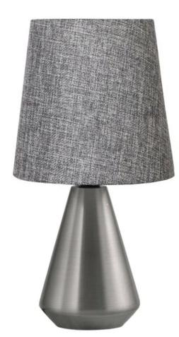 *NEW* *Set of 2* Threshold Adesso Metal Base Lamp Silver w/