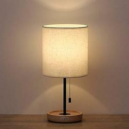 night stand table lamps fabric