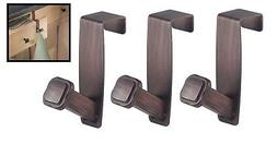 "Interdesign Over The Cabinet Peg Hook Cabinet Bronze 1"" X 2."