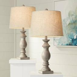 Patsy Beige Wash Table Lamp Set Of 2