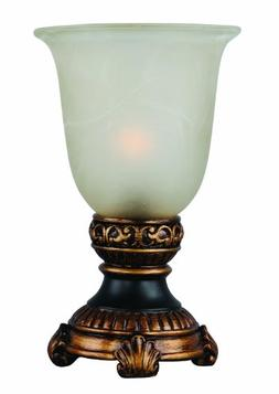 Park Madison Lighting PMA-1032 Glass Urn Accent Lamp with Am