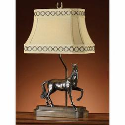 Crestview Collection Prancing Horse Table Lamp