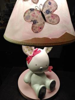 Princess 'Girls Table or Desk Lamp with Pink Ruffle Shade Ta