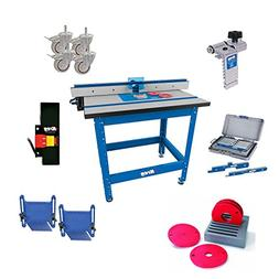 Kreg PRS1045 Router Table System with Caster, Switch, Bars,