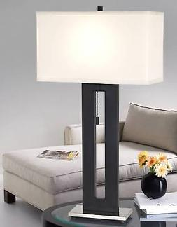 """Right Angle 27 1/2"""" High Table Lamp By 360 Lighting"""